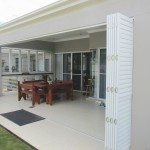 Bifold door shutters - Prestige Blinds, Gold Coast